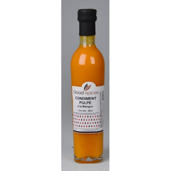Good épices Vinaigre pulpe de Mangue 250 ml