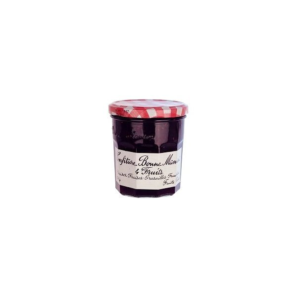 confiture 4 fruits rouges bonne maman