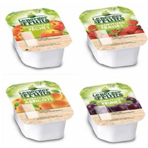 Good'épices Bl Confiture Assortiment 20gr x 144pcs 3 Parfums Berger des Fruits
