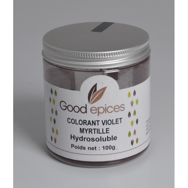 Good épices Colorant violet myrtille hydrosoluble 100gr