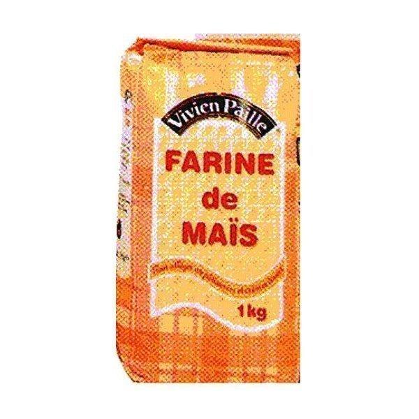 Vivien paille amidon de mais 1kg farine good pices for Amidon en cuisine