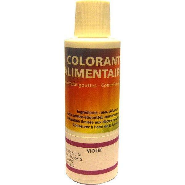 deco relief colorant alimentaire violet 125ml - Colorant Alimentaire Violet