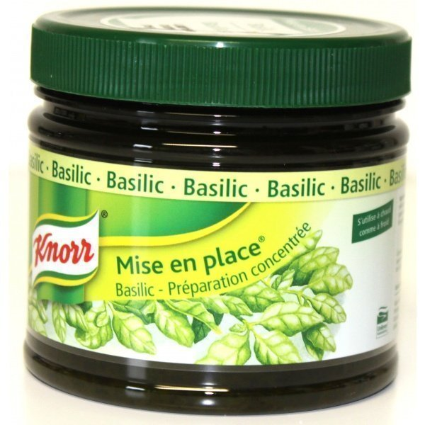 Good épices Mise en place Knorr Basilic 340gr