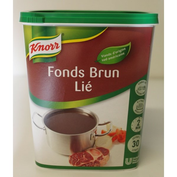 Good épices Fond Brun Lie Knorr 750gr
